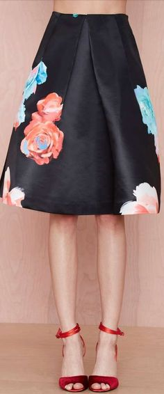 bloom and board pleated skirt