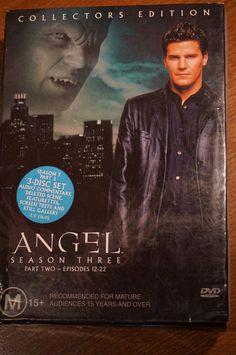 Angel - Season 3 - Part 2 - Used DVD • AUD 13.00 - PicClick AU