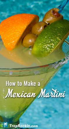 The Mexican Martini drink includes just a few more ingredients than a Margarita. These extra flavors are what makes the Mexican Martini way smoother than the traditional Margarita.Alcoholic Drinks, Summer drinks, Cocktails and Cocktail Recipes. Tequila Drinks, Fruity Cocktails, Liquor Drinks, Summer Cocktails, Cocktail Drinks, Fun Drinks, Margarita Cocktail, Drinks Alcohol, Daisies