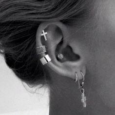 piercing en la oreja - Buscar con Google