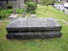 Mary Shelley's Grave, St Peter's Church, Bournemouth, Dorset, England