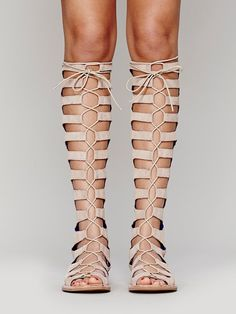 Jeffrey Campbell + Free People Rae Sandal at Free People Clothing Boutique $298.00