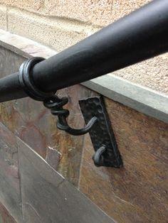 custom handrail detail