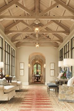 arch door ways and beam ceilings Blue Print Blog | Art, Interior Design, Home Design Blog Fairmount Dallas