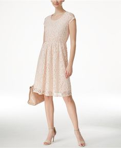 NY Collection NY Collection Lace A-Line Dress