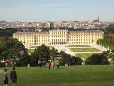 Just to have a look over Schönbrunn and Vienna. Love my city!