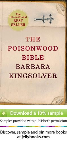 'The Poisonwood Bible' by Barbara Kingsolver tells the story of an American family in the Congo during a time of tremendous political & social upheaval. The story is told by the wife and 4 daughters of Nathan Price, a fierce evangelical Baptist who takes them to the Belgian Congo in 1959. They carry with them all they believe they will need from home, but soon find that all of it - from garden seeds to Scripture - is calamitously transformed. - Try a free ebook sample + don't forget to…