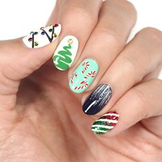 Christmas Holiday Nails Art Ideas ❤️ Every season requires special holiday nails ideas and when it is winter time – we have a fair share of ideas to present to your attention! ❤️ See  more: https://naildesignsjournal.com/holiday-nails-art-designs/ #naildesignsjournal #nails #nailart #naildesigns Winter Nail Designs, Christmas Nail Art Designs, Holiday Nail Art, Christmas Nails, Christmas Holiday, Simple Christmas, Winter Nails, Colorful Nail Art, Colorful Nail Designs