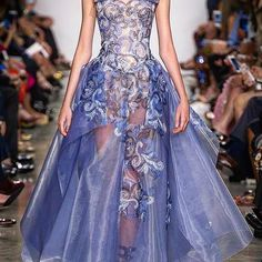 Zac Posen Fashion Couture Spring Summer 2017