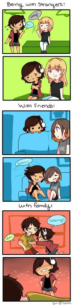 Anti-Social Media :: 19: Comfort Levels | Tapastic Comics - image 1 #funnypics #funny #lol