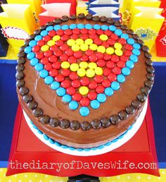 "Photo 2 of 19: Superman / Birthday ""It's a Bird, It's a Plane,...It's a Superman Birthday Party!"" | Catch My Party"