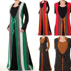 another interesting (and cheap!) abaya style via ebay