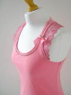 Womens Shirts Top Tank  Tunic Embellished with by jewellerybijou, $46.00