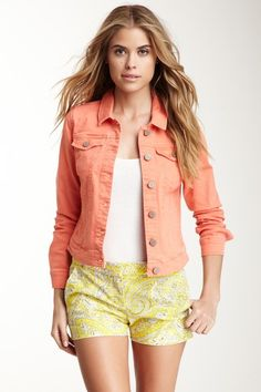 Denim Jacket by Romeo & Juliet Couture on @HauteLook.  Just bought it today.  So Cute!