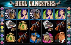 Win Reel Gangsters slot bonus games and free spins!