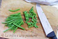 Come congelare i #fagiolini | Le mille e una passione How to #freeze the #green #beans