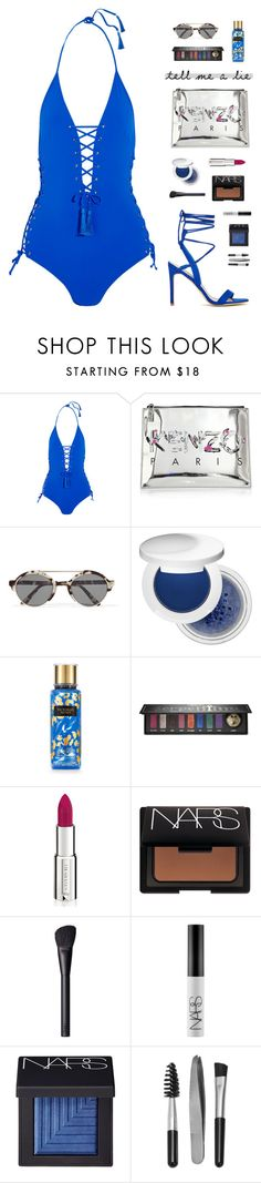 """""You can keep as quiet as you like, but one of these days somebody is going to find you."" - Haruki Murakami"" by are-you-with-me ❤ liked on Polyvore featuring Emma Pake, Kenzo, Illesteva, Estée Lauder, Kat Von D, Givenchy, NARS Cosmetics and Sephora Collection"