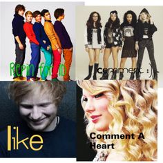 1d, little mix and taylor swift. Judge me all you want. I am who I am