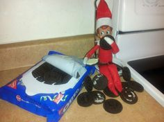 elf-on-a-shelf - Google Search eating oreos
