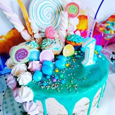 Party, Birthday Cake, Desserts, Food, Candy, Balloons, Work Shop Garage, Chef Recipes, Pies