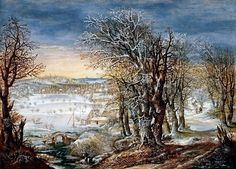 Hendrick Avercamp - Winterlandschap (4)