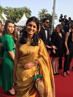Nandita Das at the Cannes 2015 Opening Night