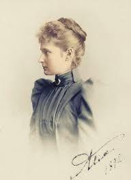 Alix, in 1892.