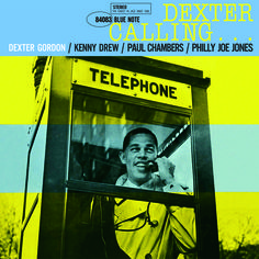 Dexter Calling, Blue Note 1961 Artwork by Francis Wolff