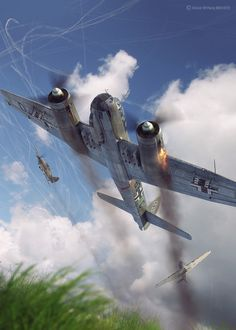 Battle of Britain Combat Archive Vol. 3 - 11th August W on Behance