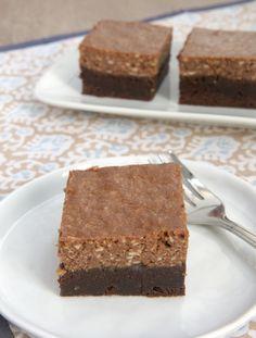 Chocolate Hazelnut Cheesecake Brownies - Bake or Break
