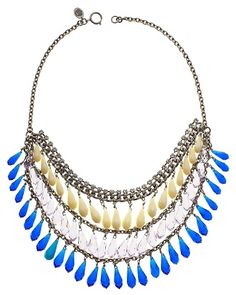 From juicy couture. Biolette Torsade Necklace. $128.00.