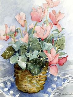 Joy Waldman WATERCOLOR
