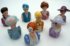 Avon  Thimble Series of Costumes of Women by antiquesarcadia