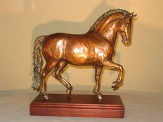 Classico Roman Horse statue (bronze) - Patricia Borum