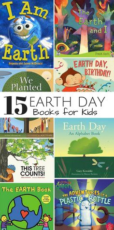 15 Earth Day Books for Kids that Teach the Value of Caring for Nature and Recycling. Earth For Kids, Love The Earth, Earth Day Activities, Art Activities, Recycling For Kids, Recycling Ideas, Recycled Crafts Kids, Recycled Art, Kid Crafts