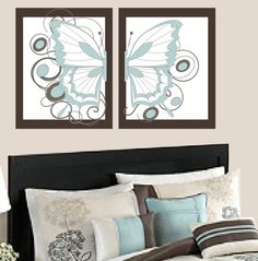 Teen Room Decor Butterfly Prints 2 16 X 20 by ImagineThatOriginals, $60.00
