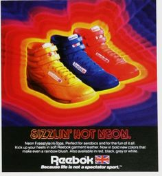 funky reebok. Alot of girls had these b3a61df8e