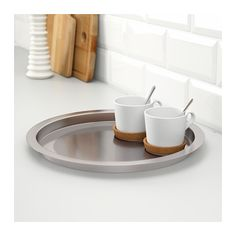GROGGY Tray, stainless steel