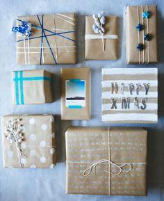 DIY Gift Wrap-DIY Gift Wrap