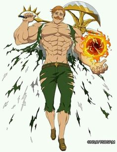 Escanor/ The Lion Sin of Pride - Nanatsu no Taizai/ Seven Deadly Sins