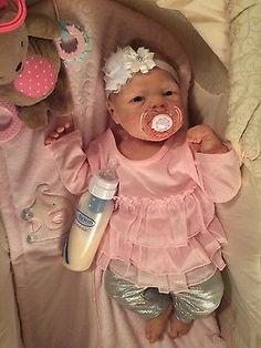 Full body solid silicone baby Lilly #2 by Joanna Kazmierczak