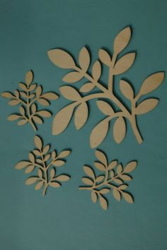 Blank WOODEN Shapes LEAVES also Birds Trees Animals Xmas LASER CUT 10/20/30cm