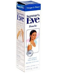 Summers Eve Vinegar and Water Douche 133ml Specially formulated to leave you feeling clean and refreshed in seconds, Summers Eve Douche is the perfect solution for feminine freshness. Its ready to use with an important difference only Summers  http://www.MightGet.com/january-2017-11/summers-eve-vinegar-and-water-douche-133ml.asp