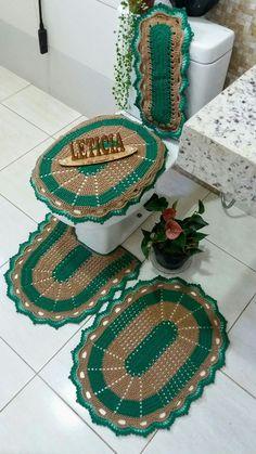 Bath Mat, Crochet Patterns, Lily, Kids Rugs, How To Make, Home Decor, Crochet Carpet, Home Decor Accessories, Crochet House