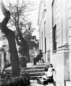 Front stoep of the South African Orphan House in Long Street towards the end of the 19th century | Flickr - Photo Sharing!