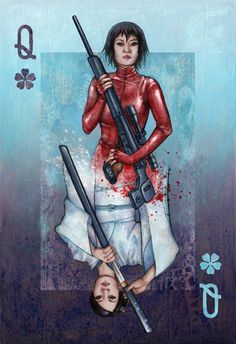"""Queen of the Tokyo Underground"" by Alice Meichi Li (Inspired by ""Kill Bill: Volume 1"""
