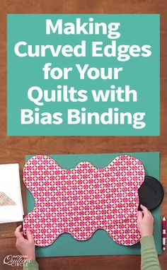 Need a new way to finish your latest quilt? Diane Harris demonstrates her methods – and provides some helpful hints – for adding a curved edge to quilts while finishing them with a bias binding. See how Diane avoids handstitching by binding with a machine. Follow each step and add a curved edge to your next quilt!