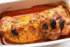 cotlet-de-porc-impanat-cu-mere,-cascaval-si-prune-uscate-2 Carne, Turkey, Cooking Recipes, Xmas, Pork, Yule, Navidad, Turkey Country, Cooker Recipes