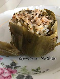 ::: Zeyno'nun Mutfağı :::: Zeytinyağlı Enginar Dolması