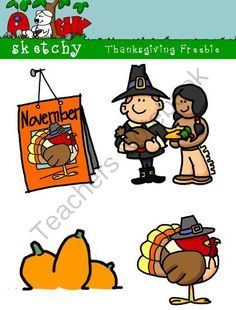 Thanksgiving / Autumn / Fall Freebie 300dpi Color Grayscale Black lined from Sketchy Guy on TeachersNotebook.com (12 pages)  - Thanksgiving / Autumn / Fall Freebie 300dpi Color Grayscale Black lined  Included are 4 Color, 4 Gray, and 4 Black and White Transparent Thanksgiving/Autumn Themed Clipart  12 Items Total.  Included are 4 Color, 4 Gray, and 4 Black and White Transparent T
